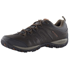 Columbia Peakfreak Woodburn II Shoes Waterproof Herren cordovan / cinnamon